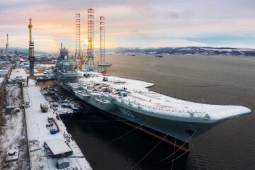 Russian Aircraft Carrier To Rejoin The Fleet In Late 2023