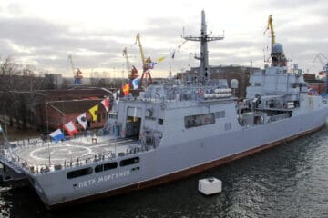 Russian Navy Commissions Second Project 11711 LST 'Petr Morgunov'