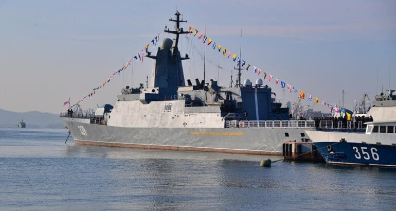 Steregushchiy-class Corvette 'Aldar Tsydenzhapov' Commissioned with Russia's Pacific Fleet