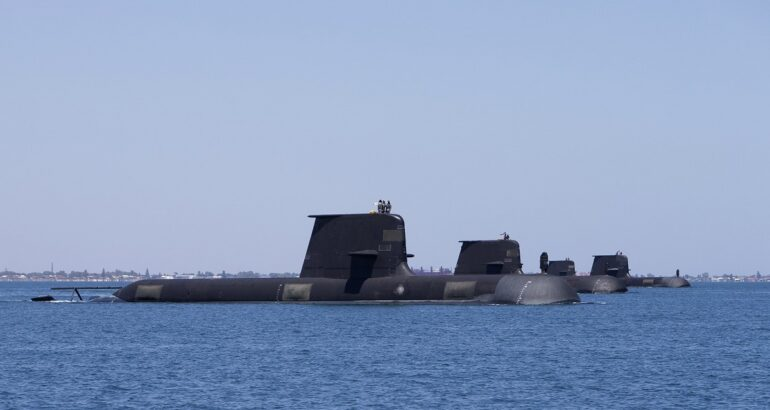 Thales Australia to deliver enhanced sonars for Collins-class Submarines