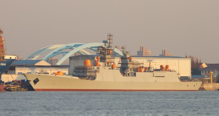 Type 054 AP Frigate For Pakistan Navy to Feature New Radar Configuration