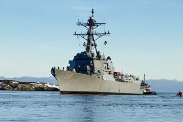 US Navy future USS Daniel Inouye destroyer completes builder's trials