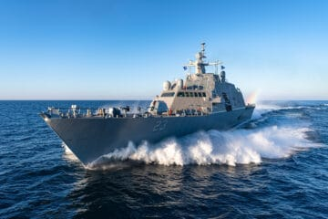 US Navy's LCS 23 – USS Cooperstown – completes acceptance trials