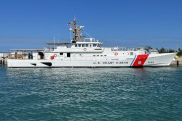 U.S. Coast Guard commissions 42nd Sentinel-Class cutter