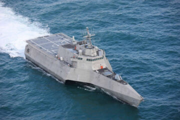 Austal USA Delivers the 13th Independence-class LCS to US Navy