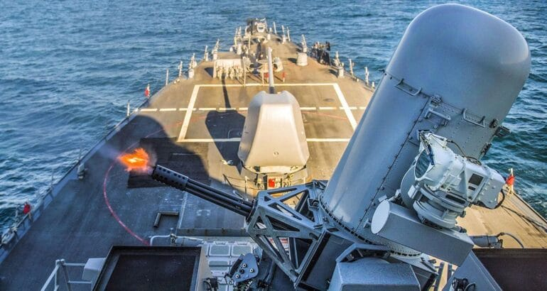 United States Approves Possible FMS Of Phalanx CIWS for Korea's KDX III Batch II
