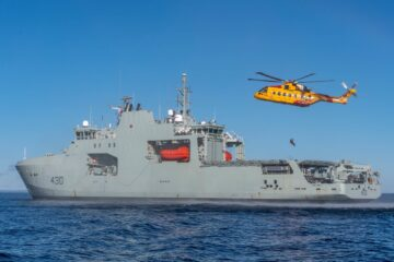 Royal Canadian Navy Harry DeWolf OPV trials new capabilities at sea