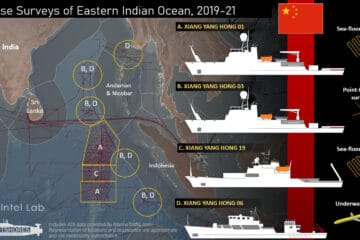 Chinese Ships Seen Mapping Strategic Seabed In Indian Ocean