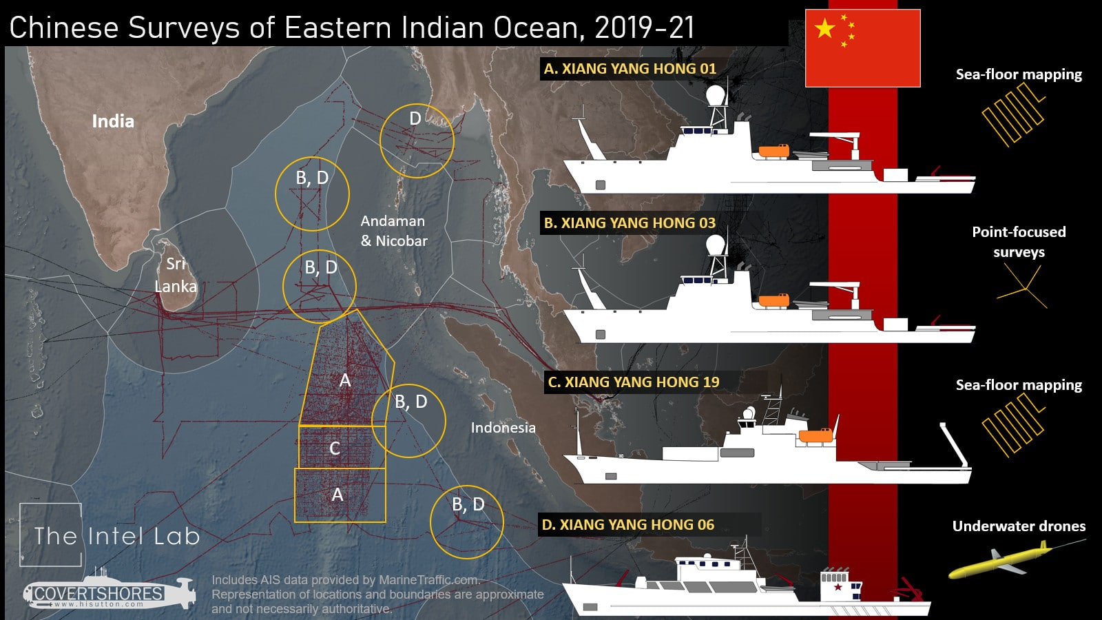 Chinese Ships Seen Mapping Strategic Seabed In Indian Ocean Naval News