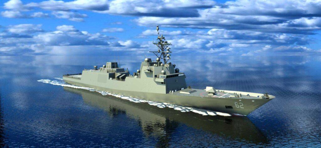 Constellation-class Frigate US Navy Fincantieri