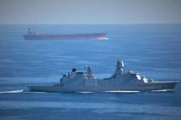 Denmark takes lead of Europe's Operation AGENOR