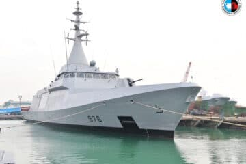 Egyptian Navy Commissions First Locally Built El Fateh-class Corvette