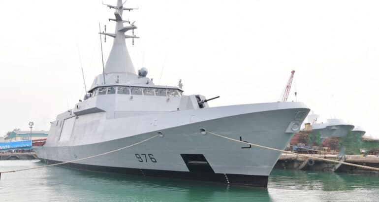Egyptian Navy inducts first locally built El Fateh-class corvette