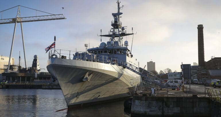 Final River-Class Batch 2 OPV 'HMS Spey' Commissioned With Royal Navy