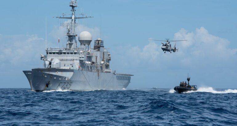 Floréal-class frigate Germinal French Navy