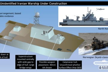 Mystery Warship Seen In Iran May Be A Completely New Type