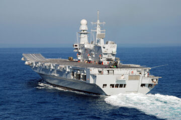 Italian Navy Aircraft Carrier Cavour to Start F-35B Qualification Next Month