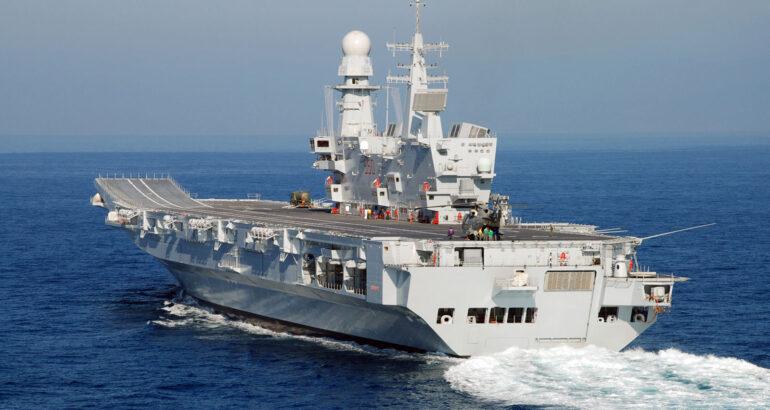 Italian Navy Aircraft Carrier Cavour