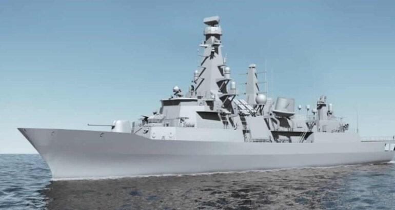 MLU of Turkish Navy's Barbaros-class frigate