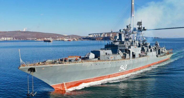 Marshal Shaposhnikov Project 1155M