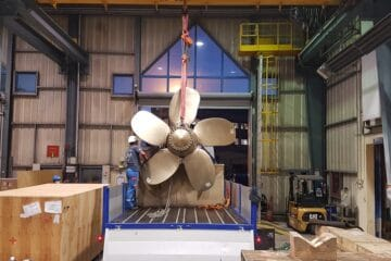 Naval Group equips a French navy ship with a 3D-printed propeller