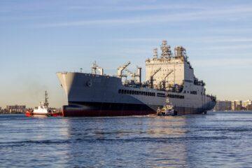 NASSCO Starts Construction On Future USNS Robert F. Kennedy