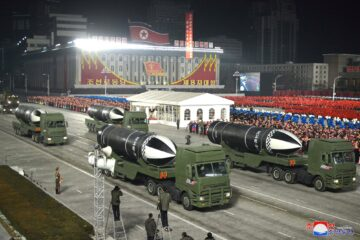 North Korea Fires Possible Pukguksong-5ㅅ SLBM