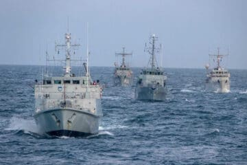 U.S. Navy Takes Command Of Standing NATO Mine Countermeasures Group 1