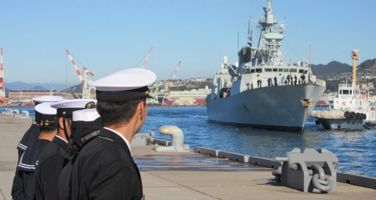 The Royal Canadian Navy's Role in the Indo-Pacific Region