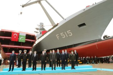 """Turkey launches the lead ship of I-class frigates """"Istanbul"""""""