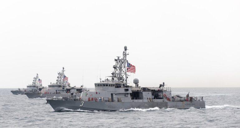 U.S. Navy Cyclone-class coastal patrol ships