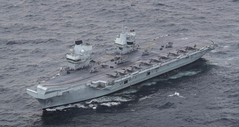 UK's Carrier Strike Group Reaches Initial Operating Capability