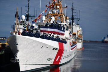 US Coast Guard commissions 41st Sentinel-class fast response cutter