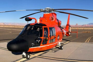 US Coast Guard commissions another four MH-65E helicopters