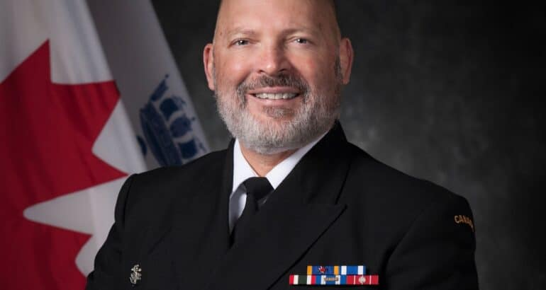 Vice-Admiral Baines New Commander for the Royal Canadian Navy