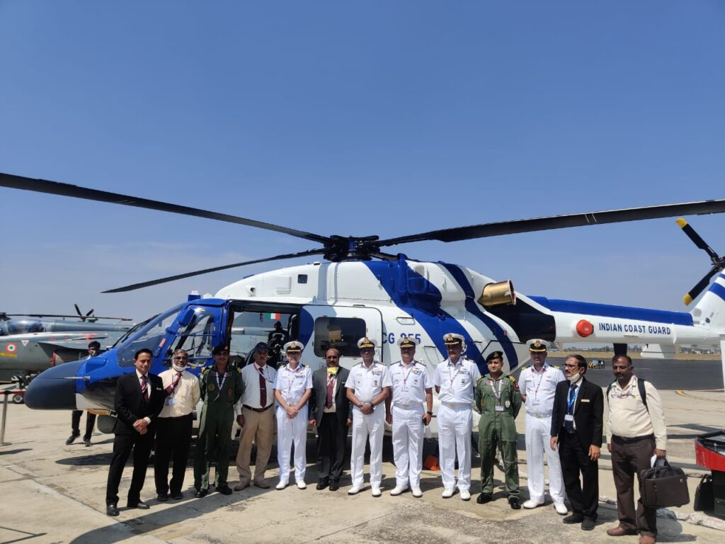 ALH Dhruv Mk III of the Indian Coast Guard