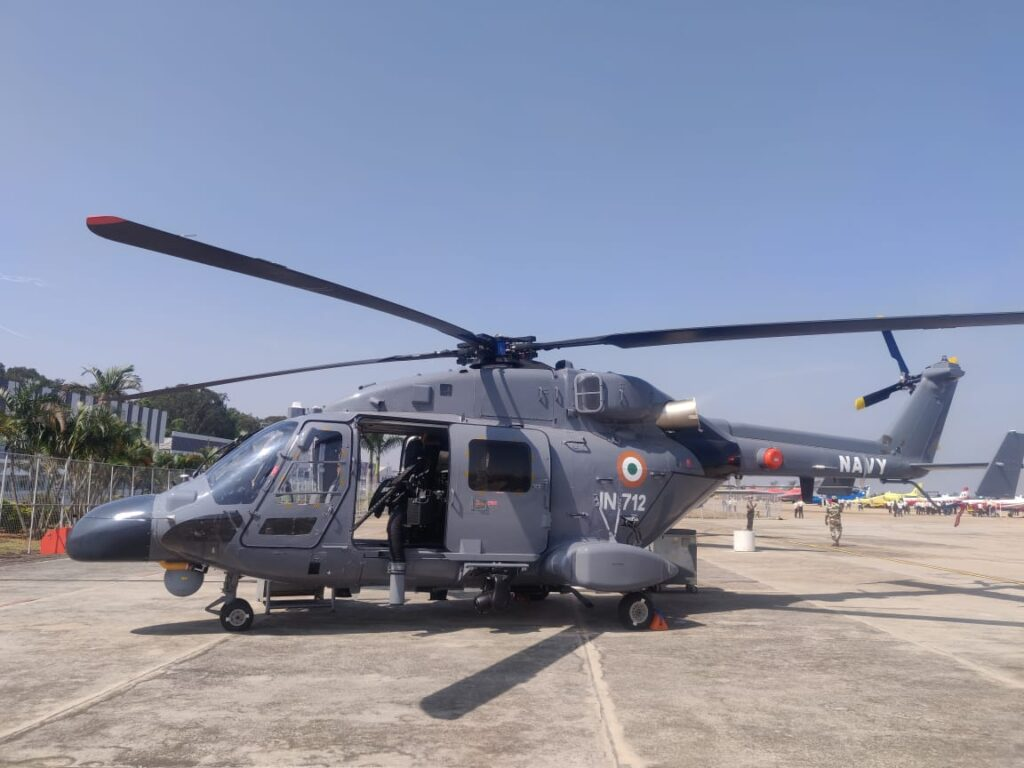 ALH Dhruv Mk III of the Indian Navy
