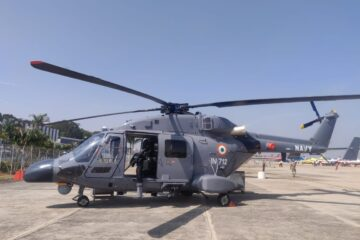 HAL hands over ALH Dhruv Mk III to the Indian Navy and Coast Guard