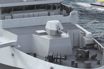 BAE Systems 40Mk4 naval guns selected for Belgian and Dutch rMCM program