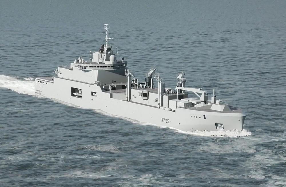 Artist impression of the future BRF vessel