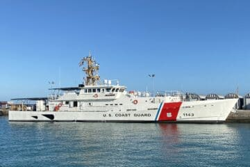 Bollinger Shipyards Delivers 43rd Fast Response Cutter to the USCG