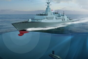 Ultra to provide Hull-Mounted Sonar for Canadian Surface Combatant