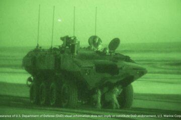 First Command Variant for ACV program delivered to USMC for testing
