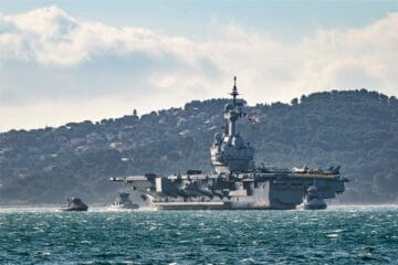 French Carrier Strike Group Begins 'Clemenceau 21' Deployment