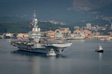 French Navy Aircraft Carrier went through Degaussing ahead of Deployment