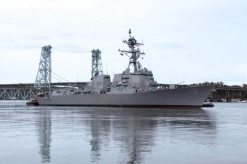 Future USS Daniel Inouye Flight IIA destroyer completes acceptance trials