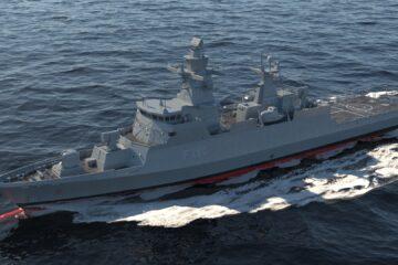 Hensoldt modernizes German Navy's K130 corvette TRS-3D radar