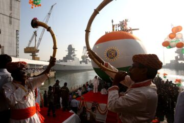 MDL Delivers 3rd Scorpene-class Submarine to the Indian Navy