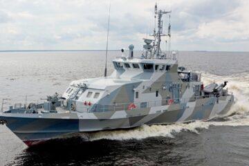 Zelenodolsk Shipyard Launched Two Russian Navy's Project 21980 Boats