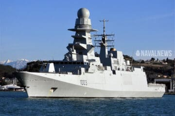 Second Italian-Built FREMM for Egypt Started Sea Trials